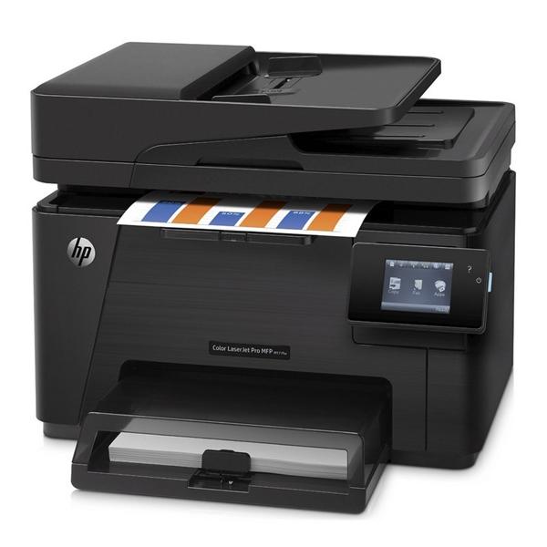 HP Color LaserJet Pro MFP M177fw - Multifincional Láser