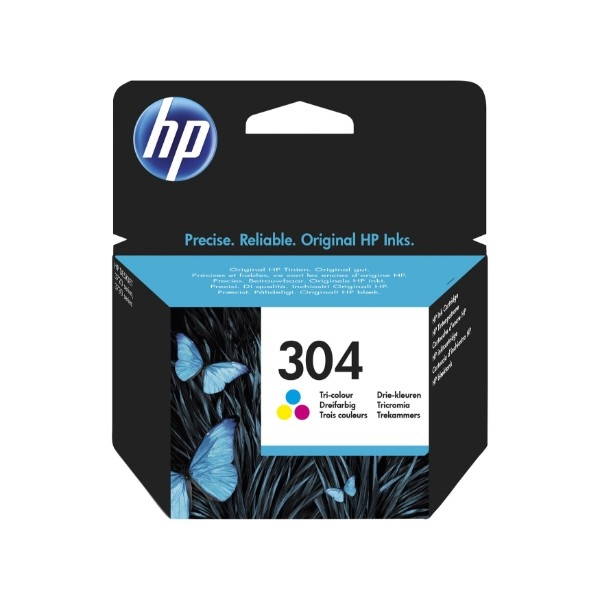 HP 304 Color 100 paginas - Tinta