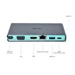I-Tec USB-C USB 3.0 VGA / HDMI LAN Travel - DOCK