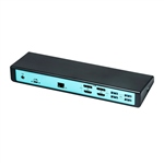 I-Tec USB-C DUAL display HDMI / DisplayPort USB 3.0 - Dock