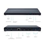 I-Tec USB-C 2 x DisplayPort 1x HDMI 4 x USB 3.0 LAN - Dock