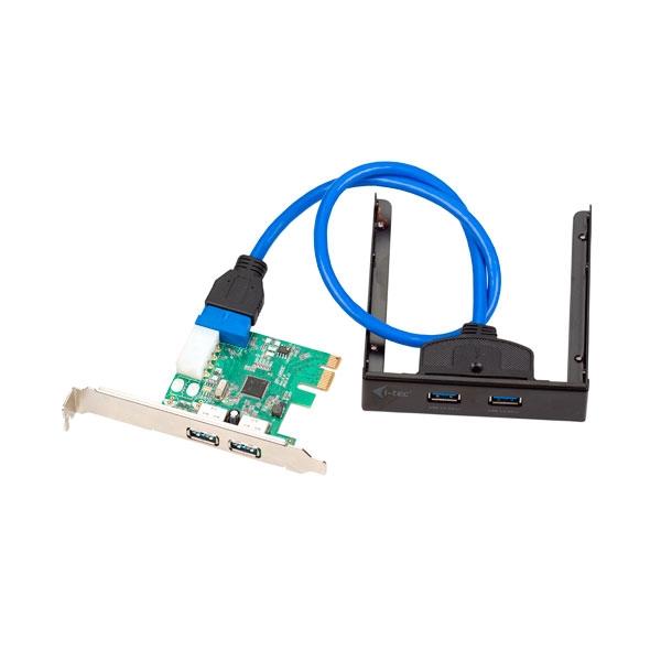 I-Tec PCE22U3EXT PCI-E (2x USB 2.0, 2x USB 3.0) - Adaptador