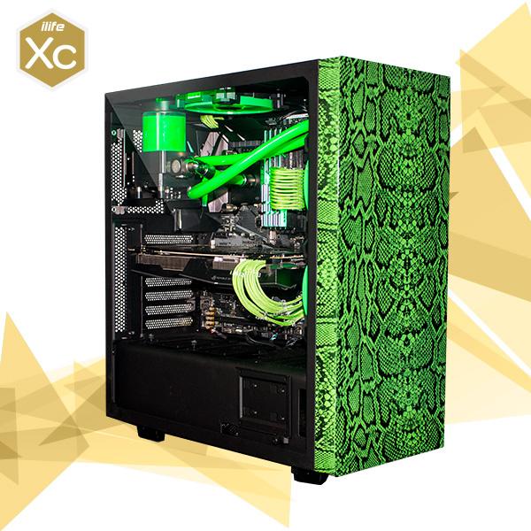 ILIFE XC GREEN VENOM 2 I7 7700K 32 525 SSD 1080 Ti – Equipo