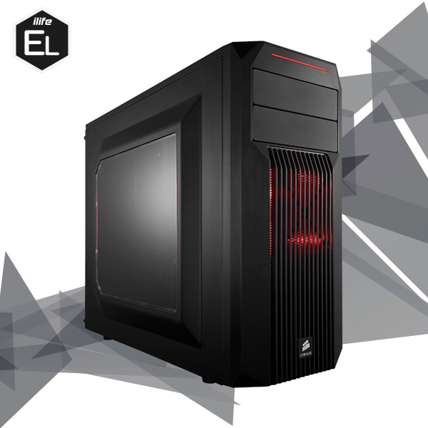 ILIFE ELITE BARBARIAN 13 INTEL 8700 32G 500 1070 Ti – Equipo