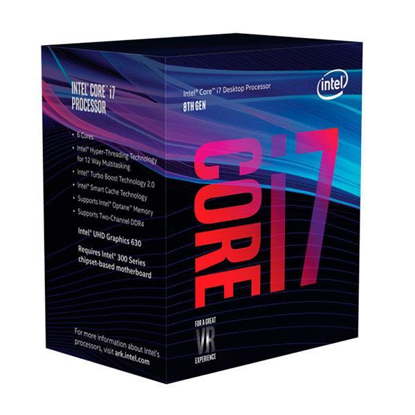Intel Core i7 8700K 4.70Ghz 6 Nucleos – Procesador
