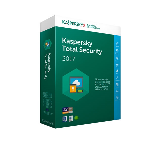 Kaspersky Total Security Multi Device 2017 3L – Antivirus