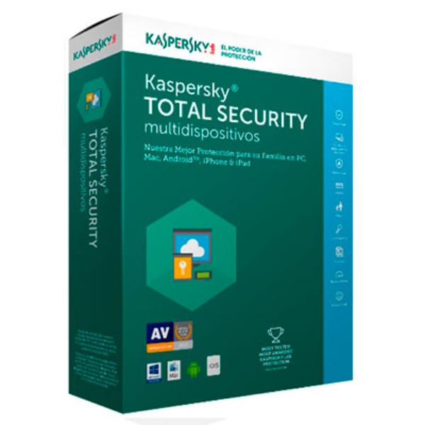 Kaspersky Total Security Multi Device 2017 5L – Antivirus