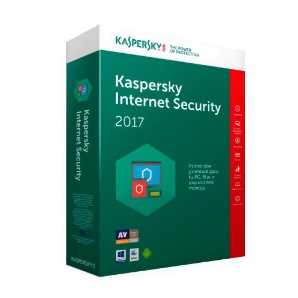 Kaspersky Internet Security Multi Device 2017 3L – Antivirus