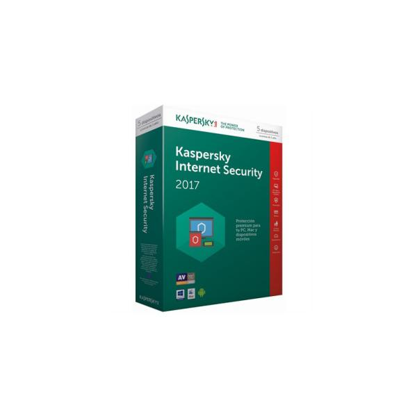 Kaspersky Internet Security Multi Device 2017 5L – Antivirus