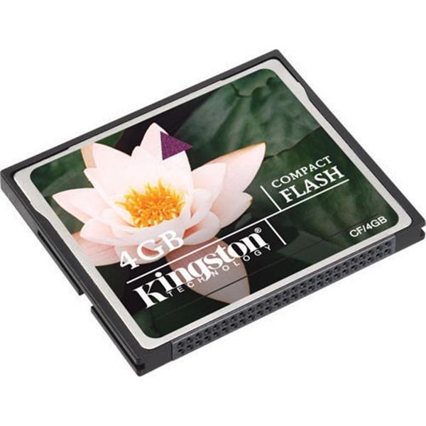 Kingston 4GB – Memoria CompactFlash