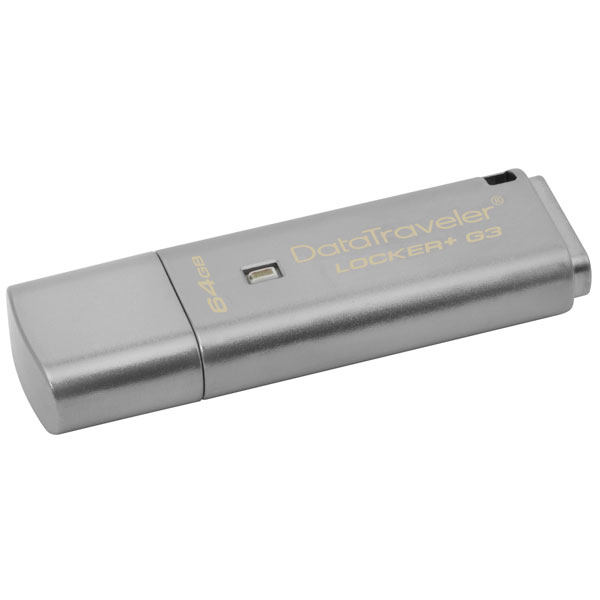 Kingston DataTraveler Locker+ G3 64GB USB 3.0 – PenDrive