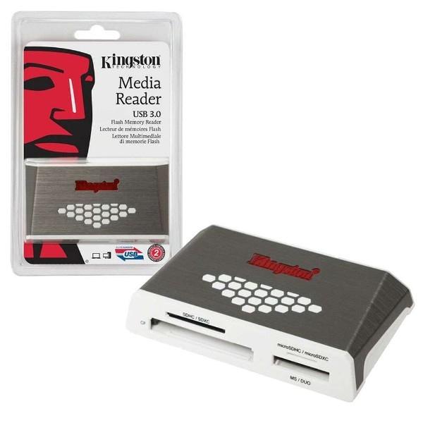 Kingston Lector de medios de alta velocidad USB 3.0
