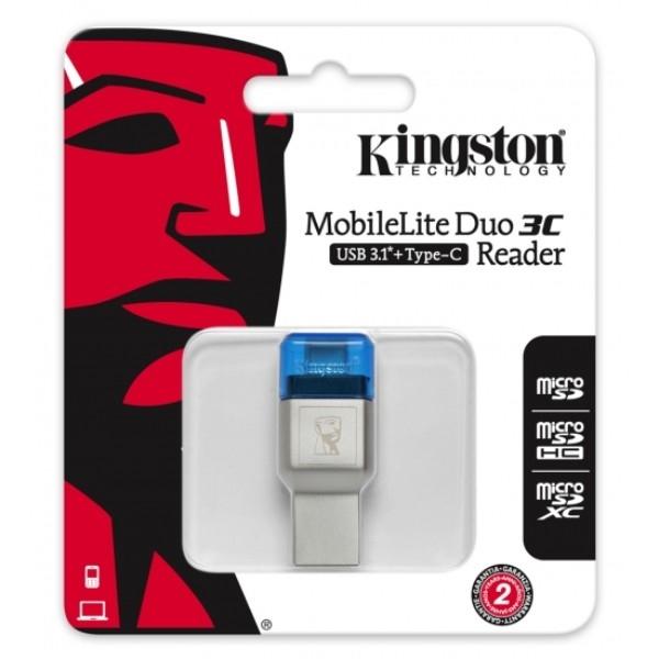 Kingston MobileLite Duo 3C – Lector de Memoria