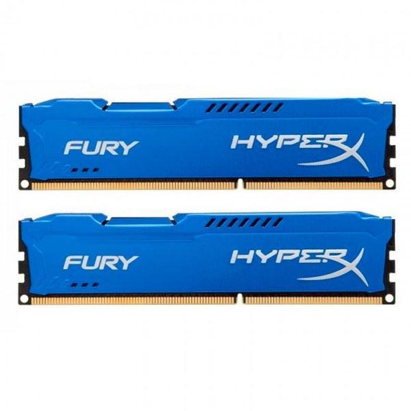 HyperX Fury DDR3 1600Mhz 16GB (2x8gb) – Memoria RAM