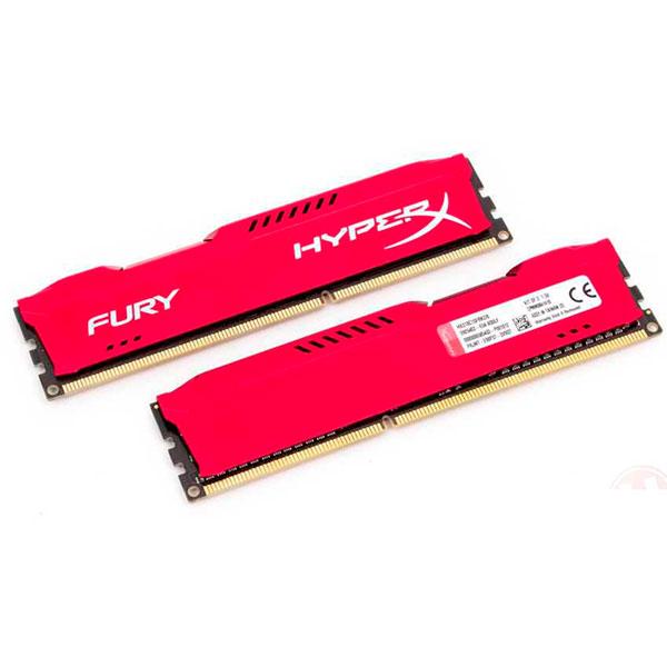 HyperX Fury DDR3 1600Mhz 8GB (2x4GB) – Memoria RAM
