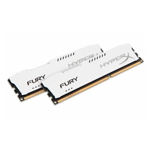 HyperX FURY White DDR3 1600MHz 16GB – Memoria RAM
