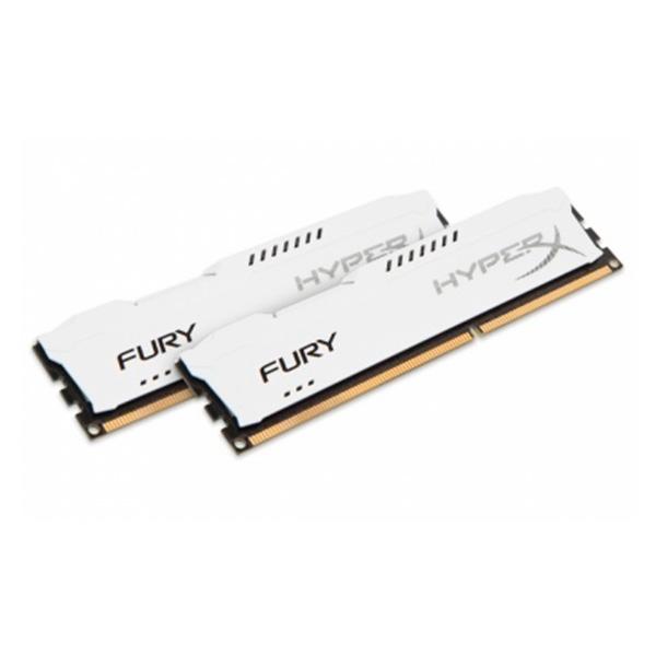 HyperX FURY White DDR3 1600MHz 8GB – Memoria RAM