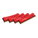 Kingston HyperX Savage DDR3 1866MHz 32GB (4×8) – Memoria RAM
