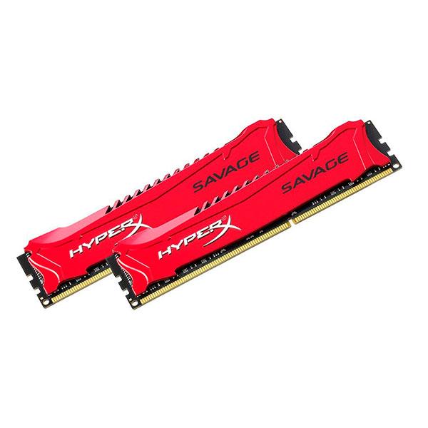 HyperX Savage DDR3 2400Mhz 16GB (2×8) – Memoria RAM