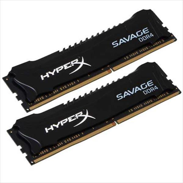 HyperX Savage DDR4 2133MHz  8GB (4×2) – Memoria RAM