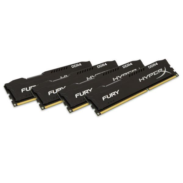 HyperX Fury DDR4 2133MHz 64GB (4×16) CL14 – Memoria RAM