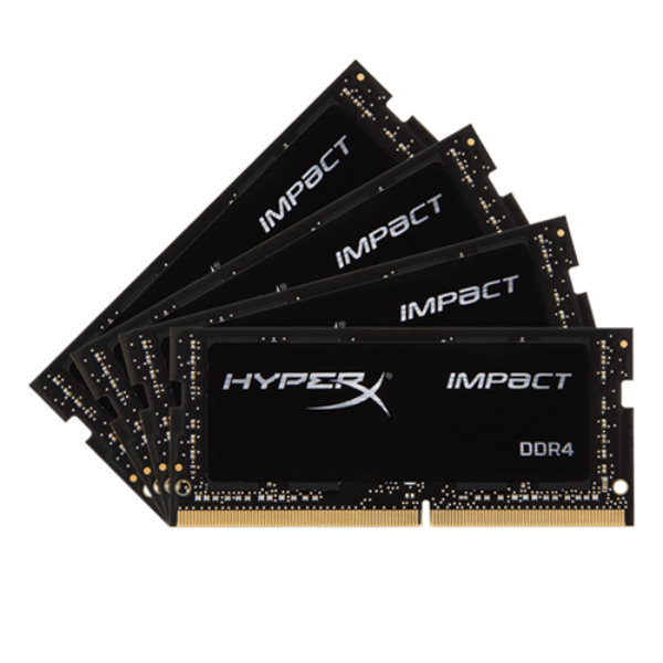 HyperX Impact DDR4 2133MHz 64GB (2×4) SO-DIMM – Memoria RAM