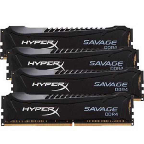 HyperX Savage DDR4 2400MHz 64GB (4×16) XMP – Memoria RAM