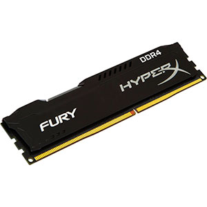 HyperX Fury DDR4 2400Mhz 8GB Negra – Memoria RAM