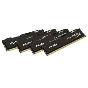 HyperX Fury DDR4 2400MHz 64GB (4×16) CL15 – Memoria RAM