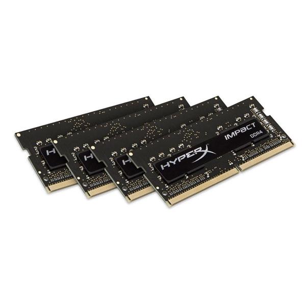 HyperX Impact DDR4 2400MHx 16GB (4x4) SO-DIMM - Memoria RAM