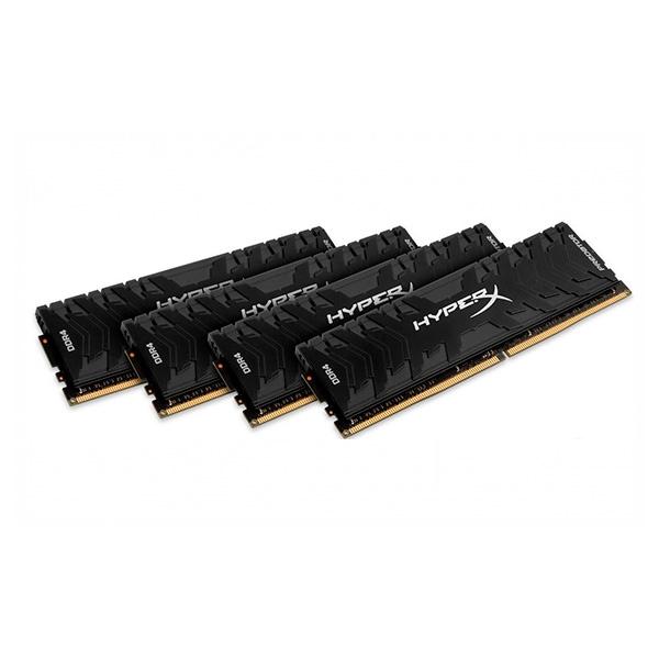 HyperX Predator DDR4 2666MHz 64GB (4×16) – Memoria RAM