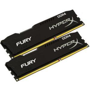 HyperX Fury DDR4 8GB (2×4) 2666MHz – Memoria RAM