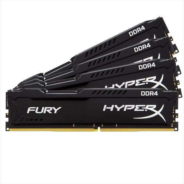 HyperX Fury DDR4 2666Mhz 32GB (4×8) – Memoria RAM