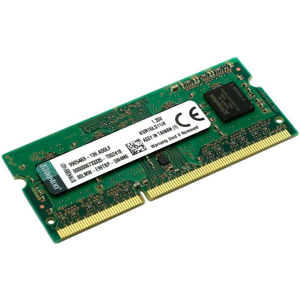 Kingston DDR3 1600Mhz 4GB SO-DIMM – Memoria RAM