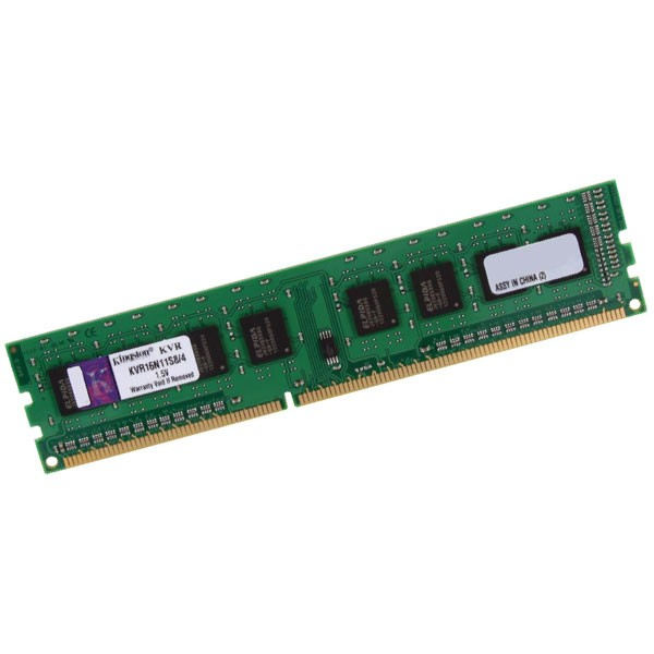 Kingston ValueRAM DDR3 1600Mhz 4GB – Memoria RAM