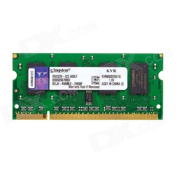 Kingston ValueRAM DDR2 800MHz 1GB SO DIMM – Memoria RAM