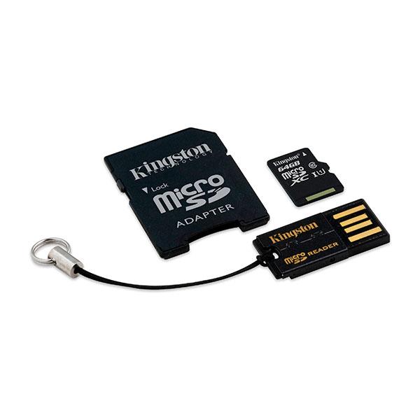 Kingston Multi-Kit / Mobility Kit 64GB – Pack Memoria Flash