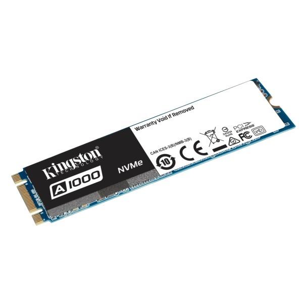 Kingston SSDNow A1000 M.2 2280 NVME 240GB – Disco Duro SSD