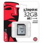 Kingston 32GB SDHC UHS-I – Memoria SD