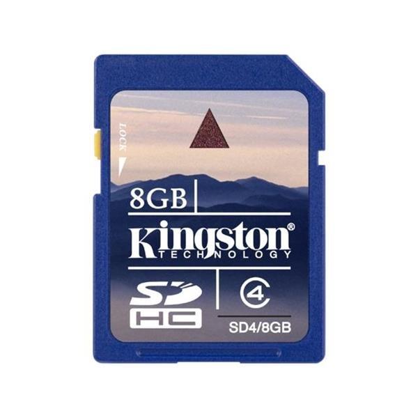 Kingston – tarjeta de memoria flash – 8 GB – SDHC