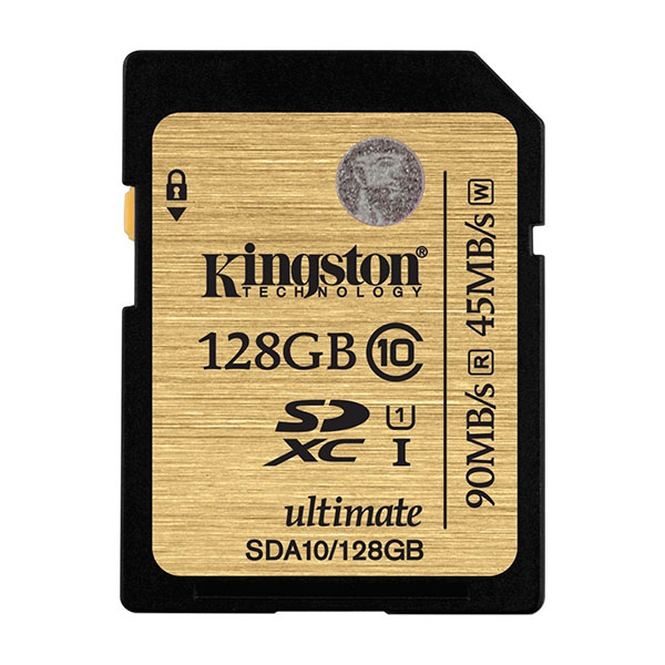 Kingston Ultimate SDXC 128GB – Memoria SD