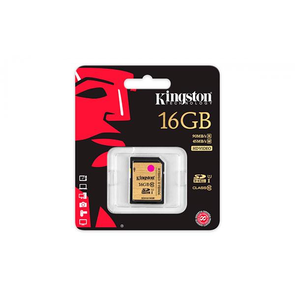 Kingston Ultimate SDHC 16GB – Memoria SD