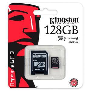 Kingston – tarjeta de memoria flash – 128 GB – microSDXC UHS