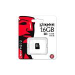 Kingston microSDHC UHS 16 GB – Memoria Flash