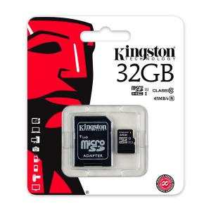 Kingston – tarjeta de memoria flash – 32GB. – microSDHC UHS-