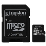 Kingston tarjeta de memoria  8 GB – MicroSDHC UHS-I