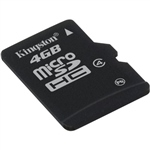 Kingston – tarjeta de memoria flash – 4 GB – microSDHC