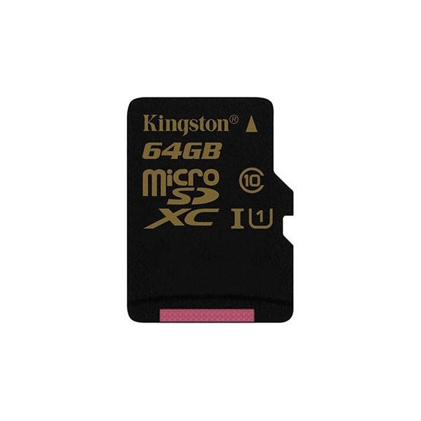 Kingston microSDXC 64GB sin adaptador – Memoria MicroSD