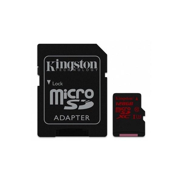 Kingston MicroSDXC 128GB UHS-I U3 80MB/S – Memoria MicroSD