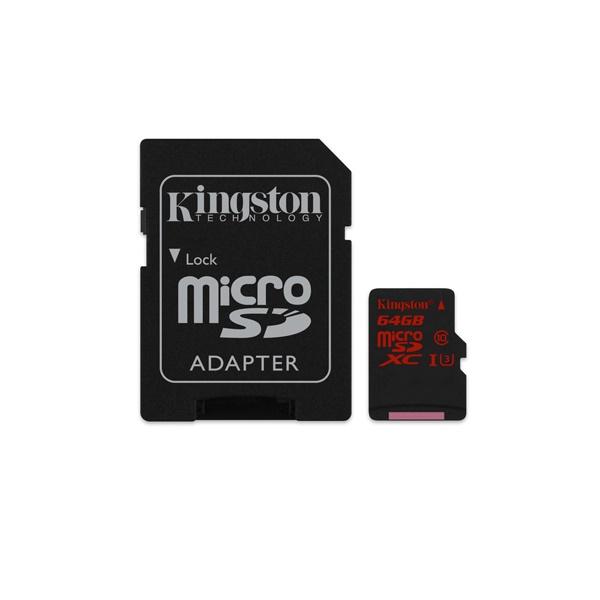 Kingston 64 GB microSDXC – Memoria Flash